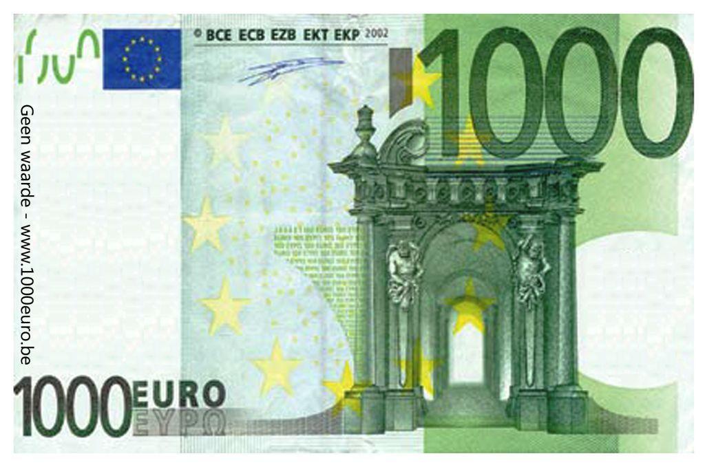 1000 Euro Stock Photo - Image: 1846880